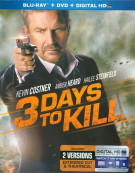 3 Days To Kill  (Blu-ray + DVD + UltraViolet)