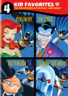 4 Kid Favorites: Adventures Of Batman & Robin