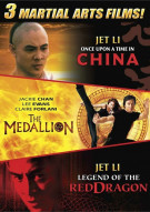Medallion, The / Once Upon A Time in China / Legend Of the Red Dragon (Triple Feature)