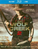 Wolf Creek 2 (Blu-ray + DVD Combo)