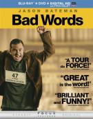 Bad Words (Blu-ray + DVD + Digital Copy + UltraViolet)