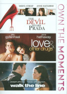 Devil Wears Prada, The / Love & Other Drugs / Walk The Line (3-Film Collection)