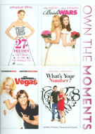 27 Dresses / Bride Wars / What Happens In Vegas / Whats Your Number?