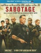 Sabotage (Blu-ray + DVD + UltraViolet)