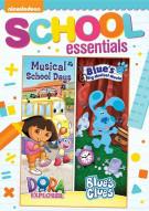 Dora The Explorer: Musical School Days / Blues Clues: Blues Big Musical Movie  (2 Pack)