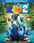 Rio 2 (Blu-ray + DVD + UltraViolet)