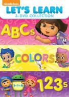 Lets Learn: ABCs / Colors / 1, 2, 3s (Triple Feature)