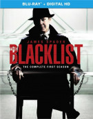 Blacklist, The: The Complete First Season (Blu-ray + Digital HD)