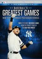 Baseballs Greatest Games: NY Yankees Postseason Heroics
