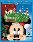 Mickeys Once Upon A Christmas / Mickeys Twice Upon A Christmas (Blu-ray + DVD Combo)