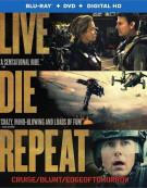Live Die Repeat: Edge Of Tomorrow (Blu-ray + DVD + UltraViolet)