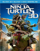 Teenage Mutant Ninja Turtles (Blu-ray 3D + Blu-ray + DVD + UltraViolet)
