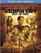 Scorpion King 4, The: Quest For Power (Blu-ray + DVD + UltraViolet)