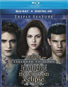 Twilight Saga Extended Edition Triple Feature, The (Blu-ray + UltraViolet)