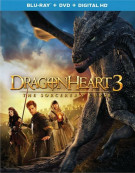 Dragonheart 3: The Sorcerers Curse (Blu-ray + DVD + UltraViolet)