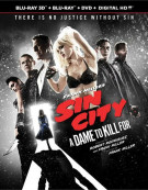 Sin City: Dame To Kill For (Blu-ray 3D + Blu-ray + DVD + UltraViolet)