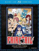 Fairy Tail: Collection Three (Blu-ray + DVD Combo)