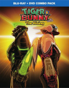 Tiger & Bunny: The Movie - The Rising (Blu-ray + DVD Combo)