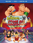 Flintstones And WWE, The: Stone Age Smackdown! (Blu-ray + DVD + UltraViolet)