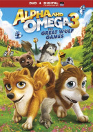 Alpha And Omega 3: The Great Wolf Games (DVD + UltraViolet)