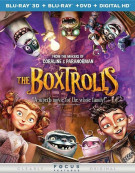 Boxtrolls, The (Blu-ray 3D + Blu-ray + DVD + UltraViolet)