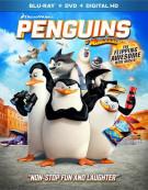 Penguins Of Madagascar (Blu-ray + DVD + UltraViolet)