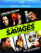 Savages (Blu-ray + UltraViolet)