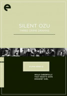 Silent Ozu: Three Crime Dramas - Eclipse From The Criterion Collection