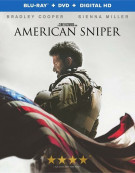 American Sniper (Blu-ray + DVD + UltraViolet)