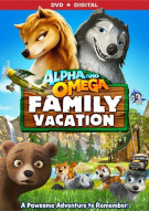 Alpha And Omega: Family Vacation (DVD + UltraViolet)
