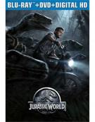 Jurassic World (Steelbook + Blu-ray + DVD + UltraViolet)