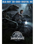 Jurassic World (Steelbook + Blu-ray 3D + Blu-ray + DVD + UltraViolet)