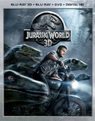 Jurassic World (Blu-ray 3D + Blu-ray + DVD + UltraViolet)