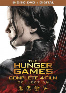 Hunger Games, The: The Complete 4-Film Collection (DVD + UltraViolet)