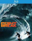 Point Break (Blu-ray + DVD + UltraViolet)