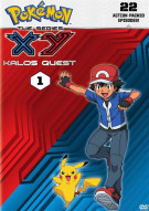 Pokemon The Series: XY Kalos Quest Set 1