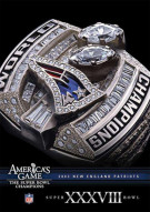 NFL Americas Game: 2003 New England Patroits Super Bowl XXXVIII