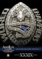 NFL Americas Game: 2004 New England Patroits Super Bowl XXXIX
