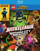 Lego DC Comics Super Heroes: Justice League - Gotham City Breakout w/ Figurine (Blu-ray + DVD + UltraViolet)