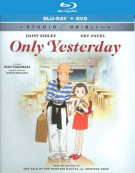 Only Yesterday (Blu-ray + DVD Combo Pack)