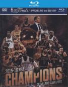 Nba Champions 2015-2016 (Blu-ray + DVD)