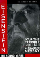 Eisenstein: The Sound Years - The Criterion Collection