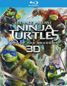 Teenage Mutant Ninja Turtles: Out Of The Shadows (Blu-ray 3D + Blu-ray + DVD + UltraViolet)