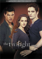 Twilight Saga 5-Movie Collection, The (DVD + UltraViolet)