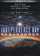 Independence Day: Resurgence (DVD + UltraViolet)