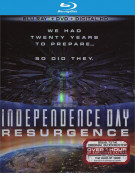 Independence Day: Resurgence (Blu-ray + DVD + UltraViolet)