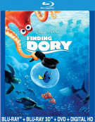 Finding Dory (Blu-ray 3D + Blu-ray + DVD + UltraViolet)