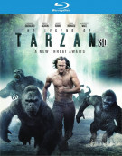 Legend Of Tarzan, The (Blu-ray 3D + Blu-ray + DVD + UltraViolet)