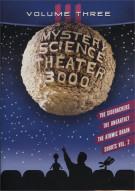 Mystery Science Theater 3000: Volume Three