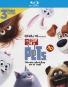 Secret Life Of Pets, The (Blu-ray 3D + Blu-ray + UltraViolet)
